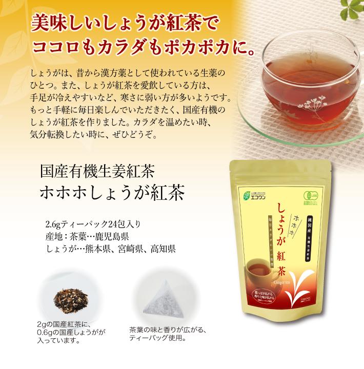 しょうが紅茶